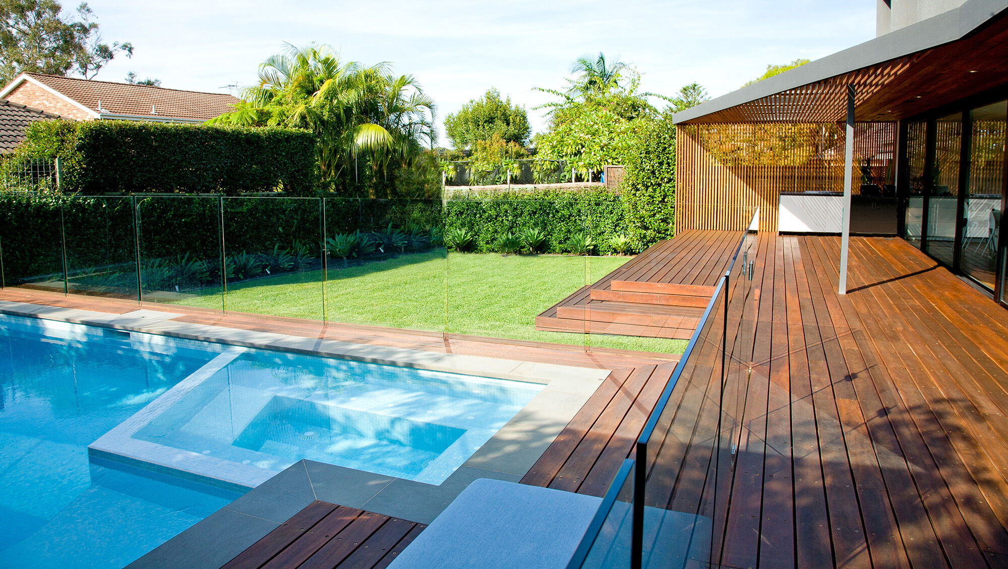 Burraneer Pool / Spa / Outdoor Entertainment area
