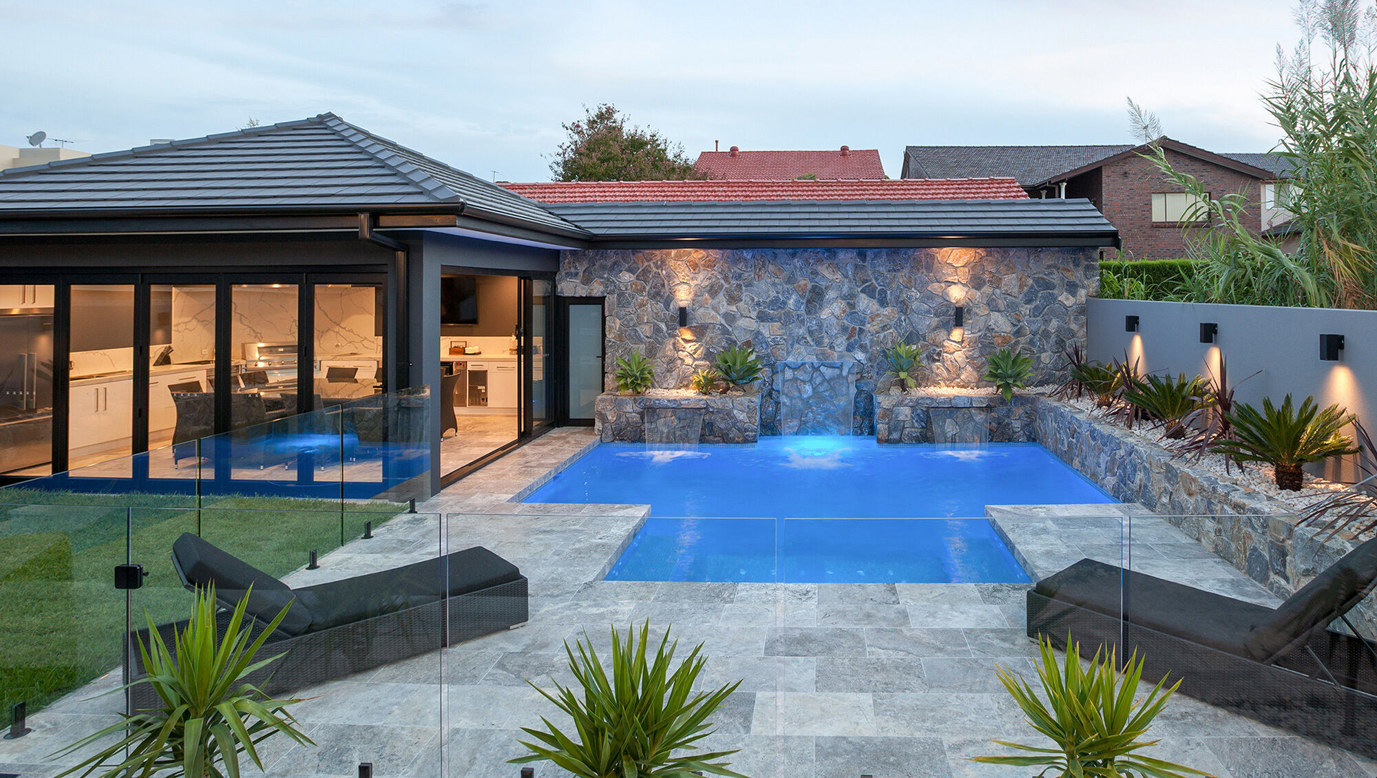 Earlwood Pool / Cabana / Landscaping / Patio